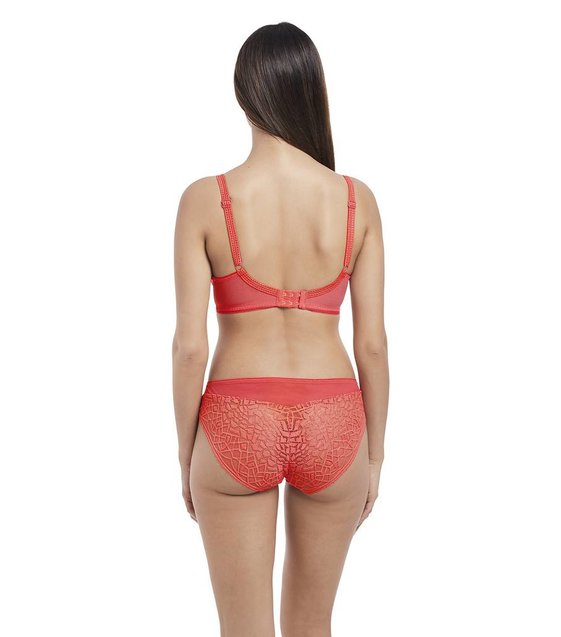 Freya Lingerie Rio Slip Soiree Lace AA5015 Coral