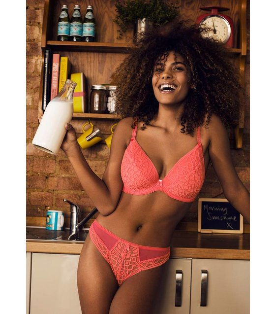 Freya Lingerie String Slip Soiree Lace AA5017 Coral
