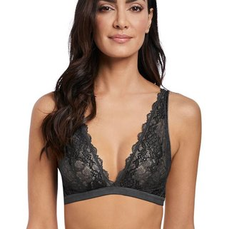 Wacoal Bralette Lace Perfection WE135008 Charcoal