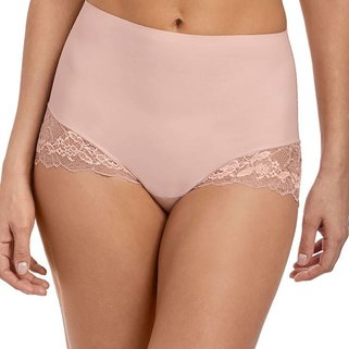 Wacoal Corrigerend Taille Slip Lace Perfection WE135010 Rose Mist