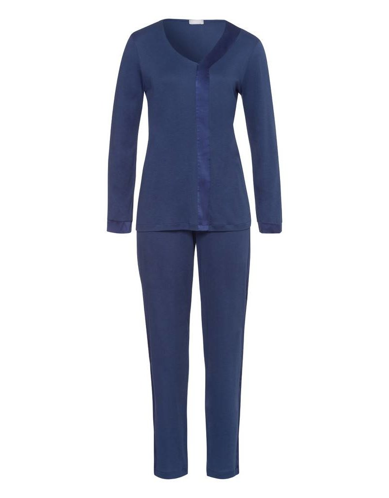Hanro Hanro Pyjama Elara 076438 Blue Horizon