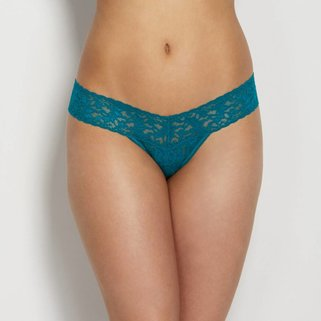 Hanky Panky Low Rise Thong 4911P Moonstone Green