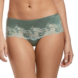 Wacoal String Slip Lace Affair WA845256 Green Slate