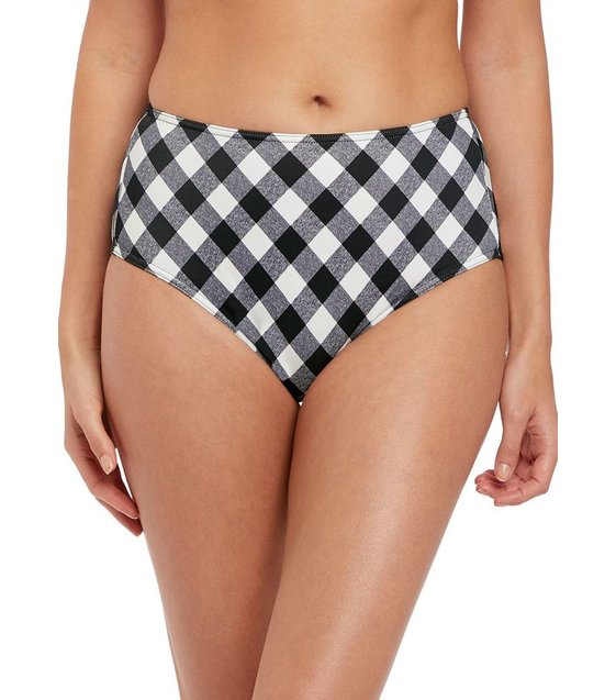 Freya Bikini Slip Totally Check Bikini Slip AS2928 Monochrome