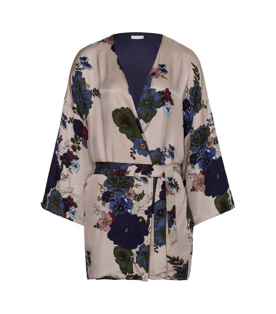 Hanro Pyjama Kimono Lavea 076467 Placed Flowers