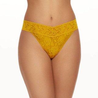 Hanky Panky Thong 4811P  Topaz Yellow