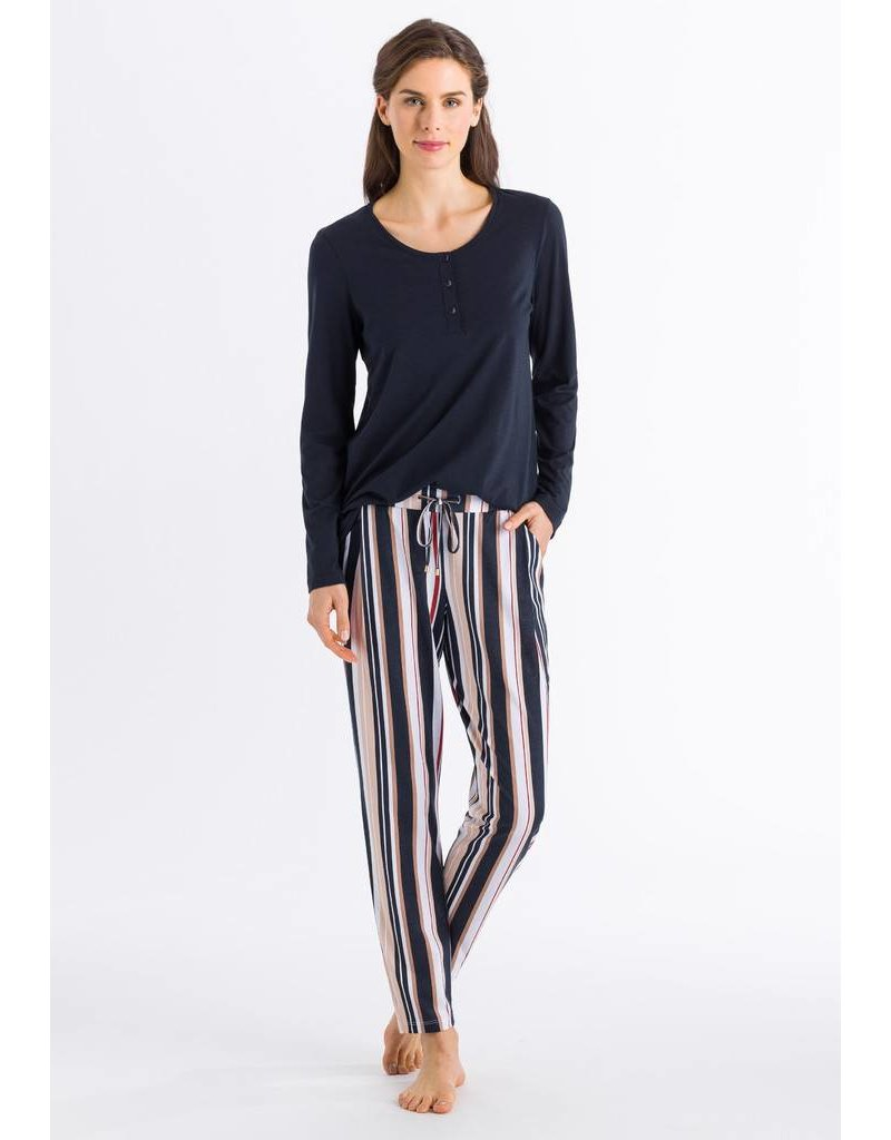 Hanro Hanro Broek Sleep & Lounge 077882 Irregular Stripe