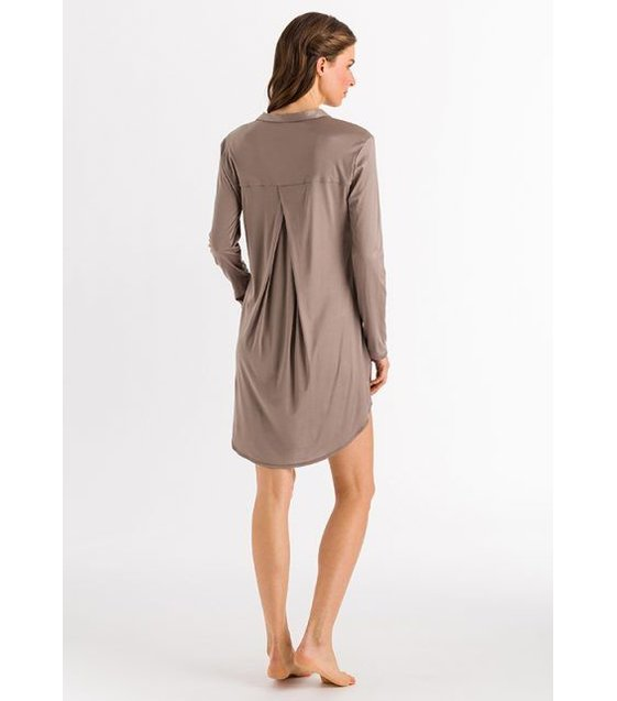 Hanro Nachthemd Grand Central  077420 Vintage Taupe