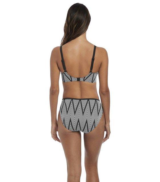 Fantasie Bikini Slip Geneva FS6595 Black & White