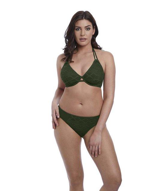 Freya Hipster Bikini Slip Sundance AS3976 Fern