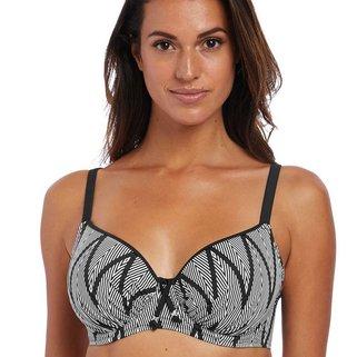 Fantasie Bikini Top Geneva FS6590 Black & White