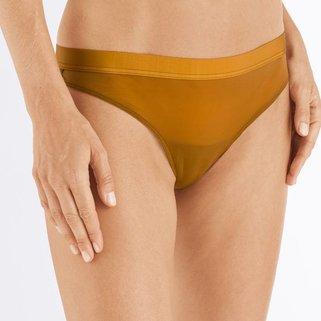 Hanro Brazilian Panty Moa 072656 Dark Brass