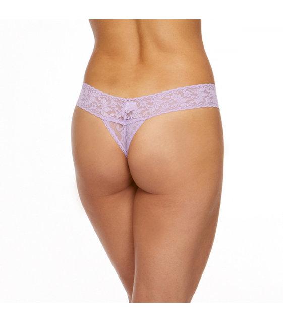 Hanky Panky Low Rise Thong 4911P Lavender Sachet