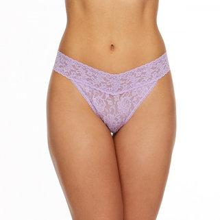 Hanky Panky String Slip 4811P Lavender Sachet