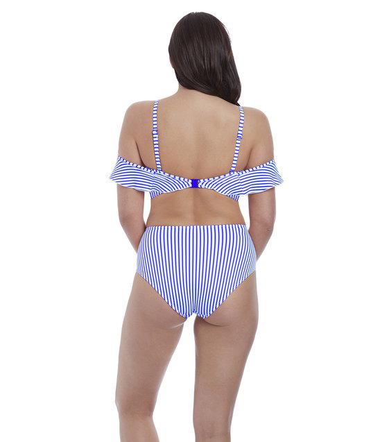 Freya Bikini Slip Totally Stripe AS6555 Cobalt