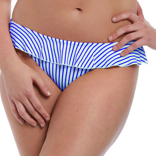 Freya Bikini Slip Totally Stripe AS6554 Cobalt