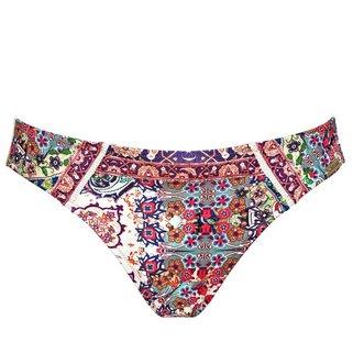 Watercult Vintage Boho Bikini Slip 115-050 Eclectic Mix