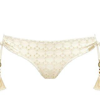 Watercult Bikini Slip Beach Broderie 697-055 Almondmilk