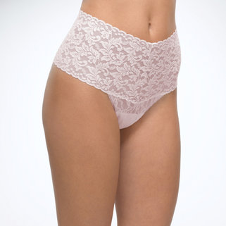 Hanky Panky Retro Lace Thong 9K1926P Bliss Pink