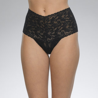 Hanky Panky Retro Lace Thong 9K1926P Black