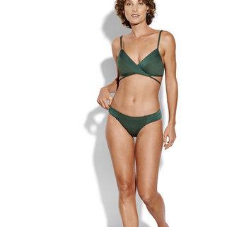 Seafolly Hipster Bikini Slip 40463-065 Forest