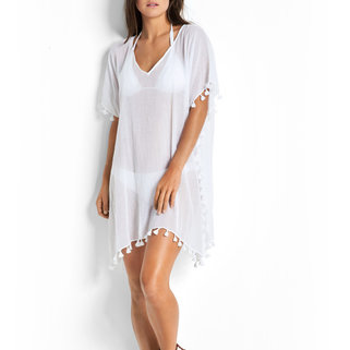 Seafolly Kaftan 52162 White