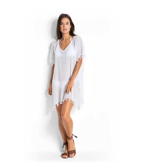 Seafolly Kaftan 52162 White