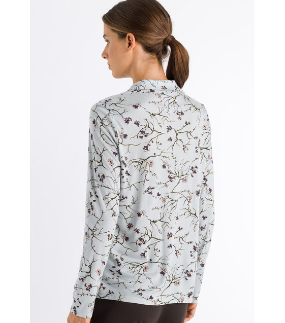 Hanro Shirt Elin 076552 Delicate Branches