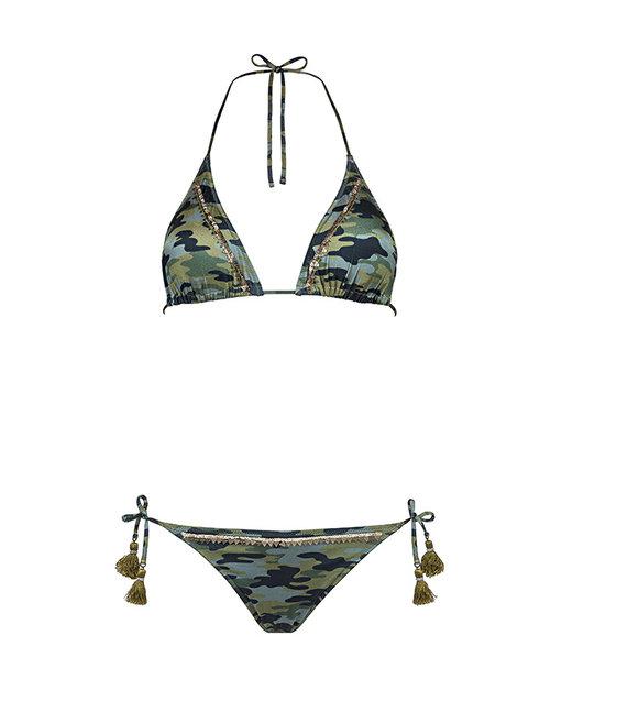 Watercult Camo Luxe Triangel Bikini 7071/268-051 Camouflage