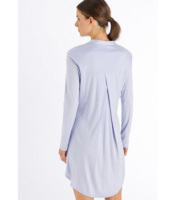 Hanro Nachthemd Grand Central 077420 White Lilac