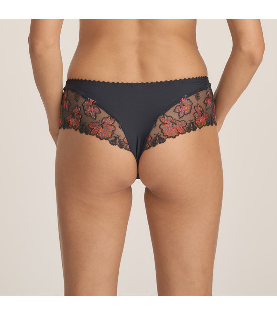 PrimaDonna Luxe String Slip Wild Flower 0663131 Midnight Blue