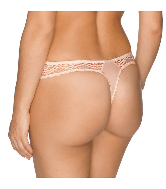 PrimaDonna Twist I Do String Slip 0641600 Silky Tan