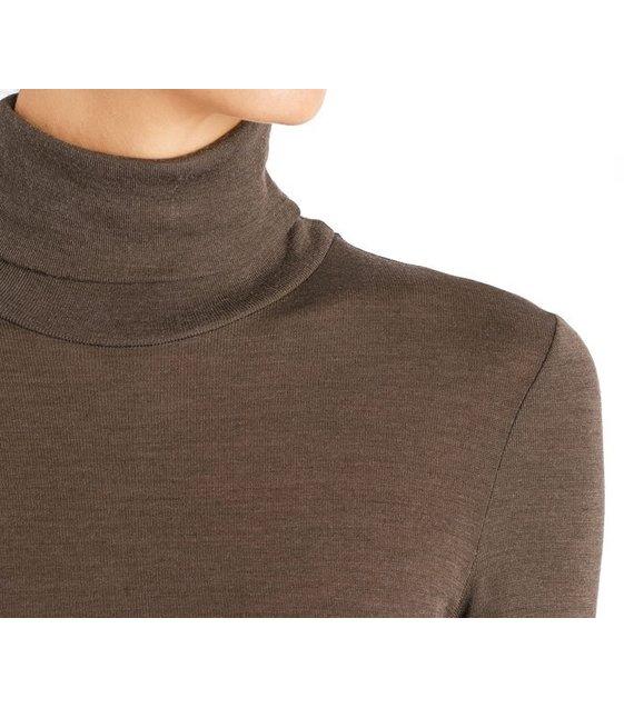 Hanro Shirt Woolen Silk 071423 Elephant grey