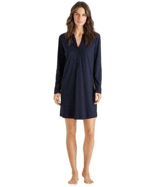 Hanro Night Dress Sleep & Lounge 077618 Soft Blue