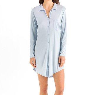 Hanro Nachthemd Grand Central  077420 Ice Blue