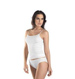Hanro Hanro Spaghetti Top Cotton Seamless 071600 white
