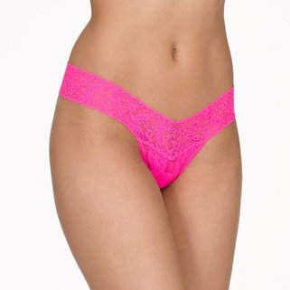 Hanky Panky Low Rise Thong 4911P PASSIONATE PINK