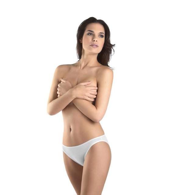 Hanro Slip Cotton Seamless 071624 white