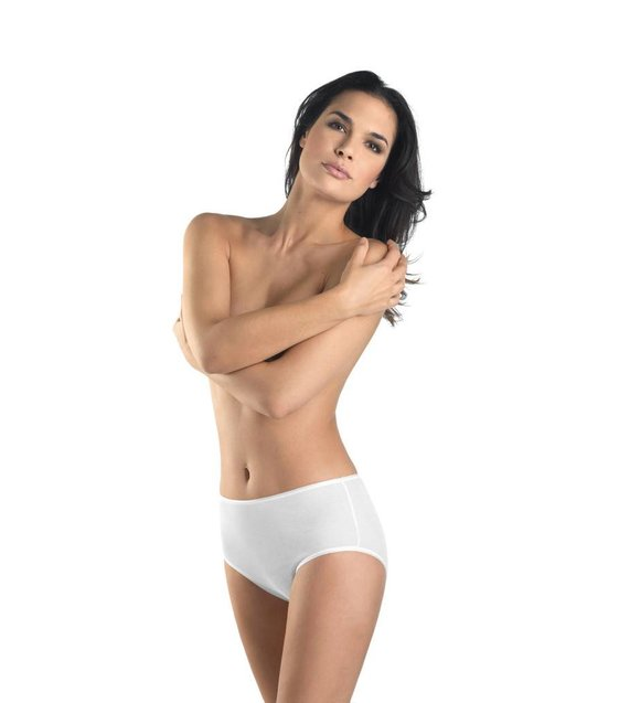 Hanro Taille Slip Cotton Seamless 071625 white