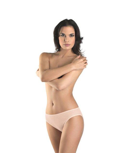 Hanro Rio Slip Cotton Seamless 071626 skin