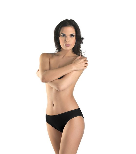 Hanro Rio Slip Cotton Seamless 071626 black