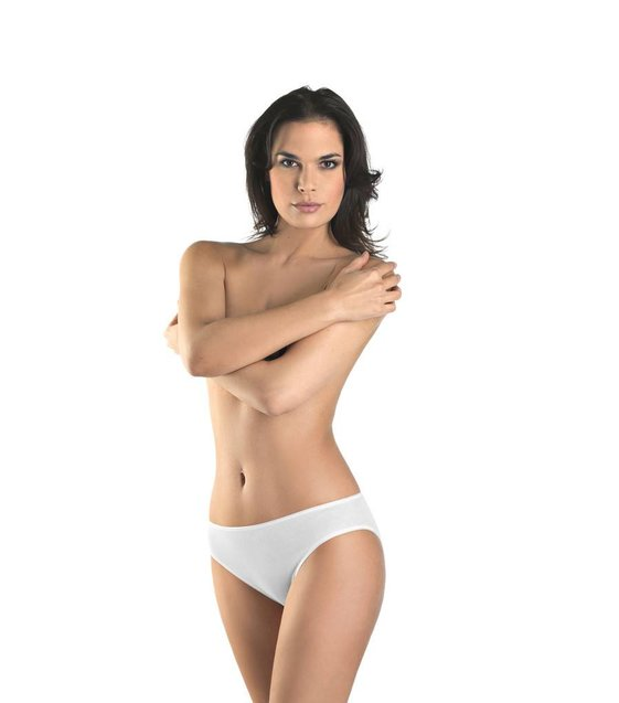 Hanro Rio Slip Cotton Seamless 071626 white