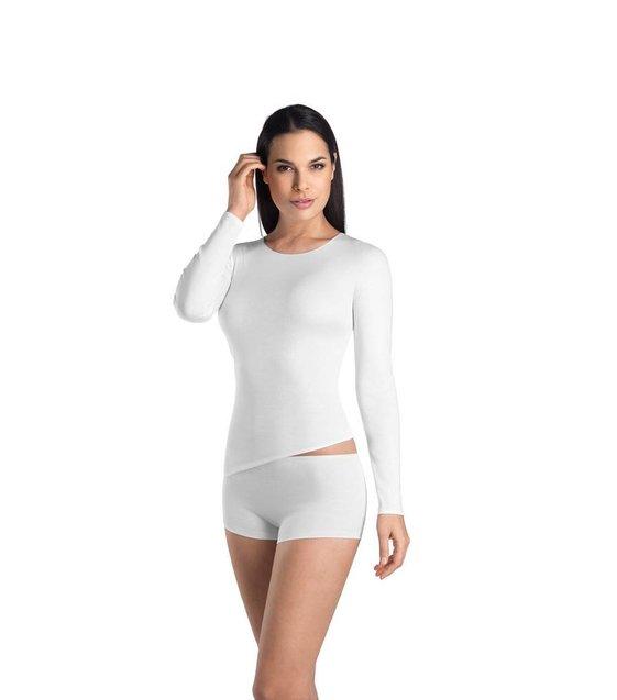 Hanro Shirt Cotton Seamless 071620 white