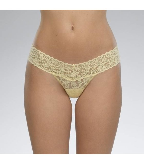 Hanky Panky Lage String Slip 4911P Buttercup