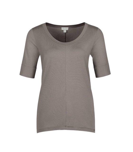 Hanro Shirt Yoga 077994 taupe grey
