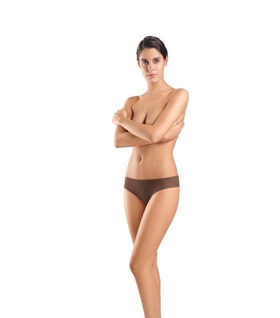 Hanro Slip Invisible Cotton 071226 mocha