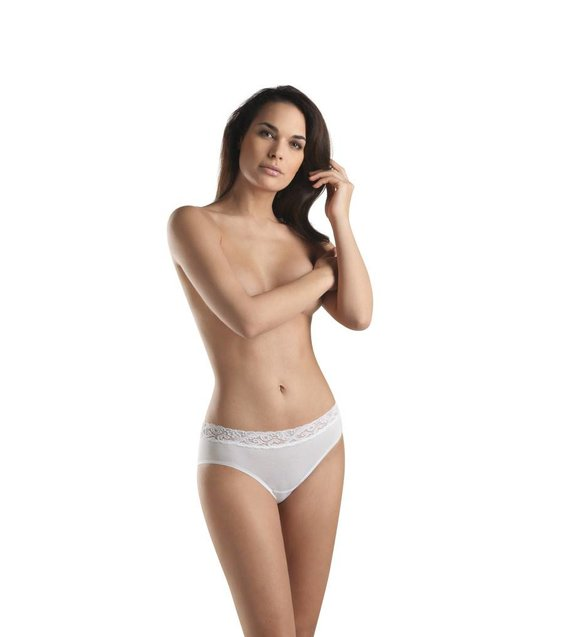 Hanro Slip Moments 071482 white