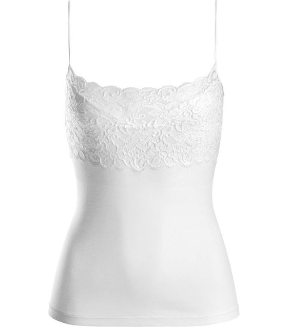 Hanro Spaghetti Top Moments 071448 white