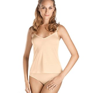 Hanro Spagetti Top Satin de Luxe 071063 natural