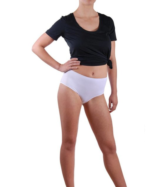 Lejaby Taille Slip Invisible 5304 Blanc